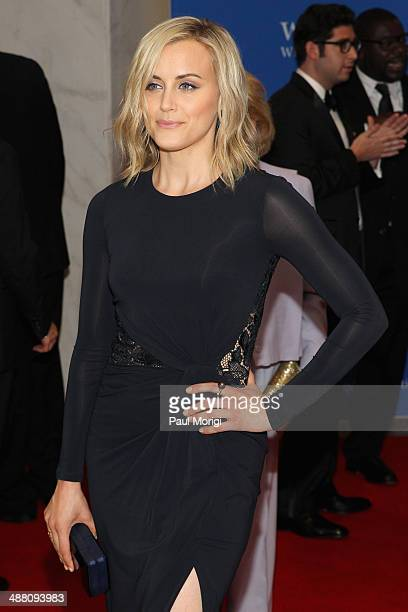 Actress Taylor Schilling attends the 100th Annual White House Correspondents' Association Dinner at the Washington Hilton on May 3 2014 in Washington...