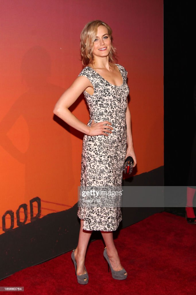 Actress <a gi-track='captionPersonalityLinkClicked' href=/galleries/search?phrase=Taylor+Schilling&family=editorial&specificpeople=5852086 ng-click='$event.stopPropagation()'>Taylor Schilling</a> attends the 2013 Whitney Gala and Studio party at Skylight at Moynihan Station on October 23, 2013 in New York City.