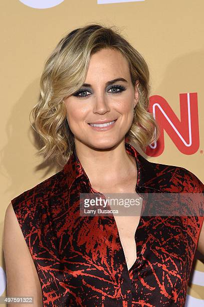 Actress Taylor Schilling attends the '2015 CNN Heroes An AllStar Tribute' at American Museum of Natural History on November 17 2015 in New York City