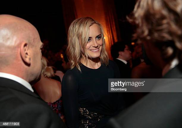 Actress Taylor Schilling attends the Bloomberg Vanity Fair White House Correspondents' Association dinner afterparty in Washington DC US on Saturday...