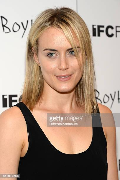 Actress Taylor Schilling attends the 'Boyhood' New York premiere at Museum of Modern Art on July 7 2014 in New York City