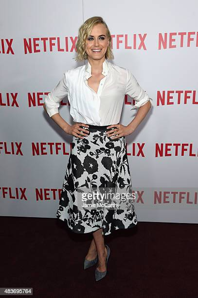 Actress Taylor Schilling attends the 'Orange Is The New Black' FYC screening at DGA Theater on August 11 2015 in New York City