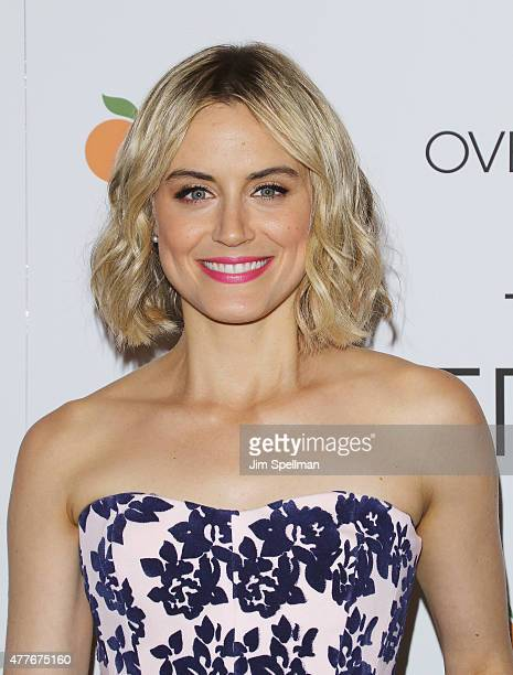 Actress Taylor Schilling attends 'The Overnight' New York premiere at Landmark's Sunshine Cinema on June 18 2015 in New York City
