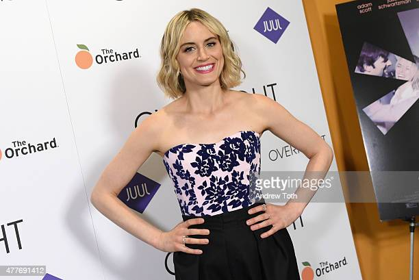 Actress Taylor Schilling attends 'The Overnight' New York Premiere at Sunshine Landmark on June 18 2015 in New York City