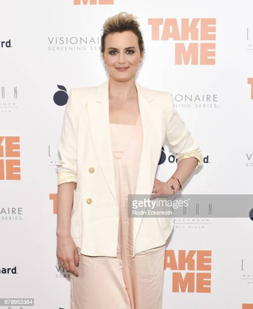 Actress Taylor Schilling attends the premiere of The Orchard's 'Take Me' at The London West Hollywood on May 4 2017 in West Hollywood California