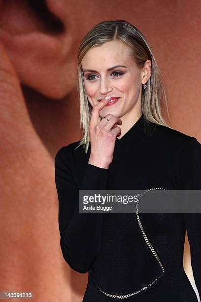 Actress Taylor Schilling attends the 'The Lucky One' Germany premiere at CineStar movie theater on April 25 2012 in Berlin Germany