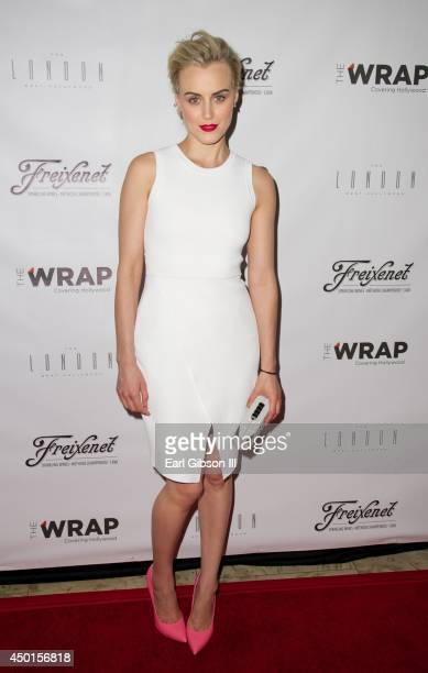 Actress Taylor Schilling attends The Wrap's First Annual Emmy Party at The London on June 5 2014 in West Hollywood California