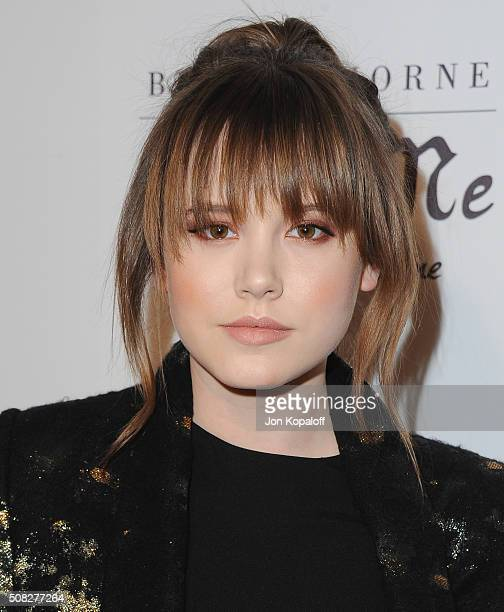 Actress Taylor Spreitler arrives at Bella Thorne Hosts Miss Me And Cosmopolitan's Spring Campaign Launch Event at The Terrace at Sunset Tower on...