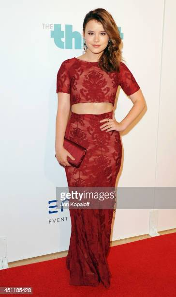Actress Taylor Spreitler arrives at the 5th Annual Thirst Gala at The Beverly Hilton Hotel on June 24 2014 in Beverly Hills California