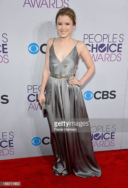 Actress Taylor Spreitler attends the 39th Annual People's Choice Awards at Nokia Theatre LA Live on January 9 2013 in Los Angeles California