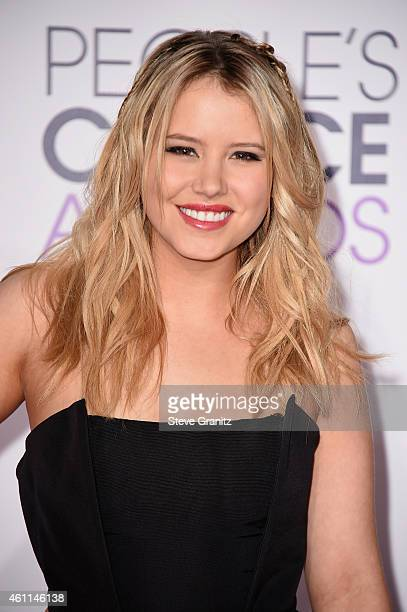 Actress Taylor Spreitler attends The 41st Annual People's Choice Awards at Nokia Theatre LA Live on January 7 2015 in Los Angeles California