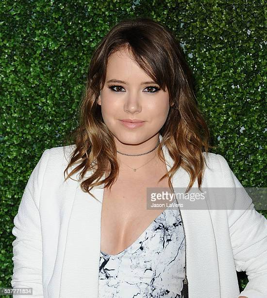 Actress Taylor Spreitler attends the 4th annual CBS Television Studios Summer Soiree at Palihouse on June 2 2016 in West Hollywood California