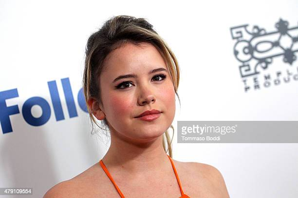 Actress Taylor Spreitler attends the 6th Annual Thirst Gala held at The Beverly Hilton Hotel on June 30 2015 in Beverly Hills California