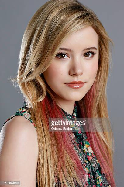 Actress Taylor Spreitler is photographed for Self Assignment on March 27 2013 in Los Angeles California