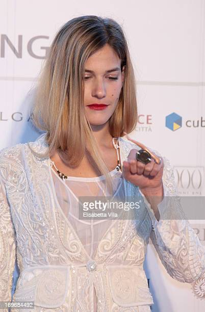 Actress Tea Falco attends '2013 Nastri d'Argento' Award Nominations at Maxxi Museum on May 30 2013 in Rome Italy