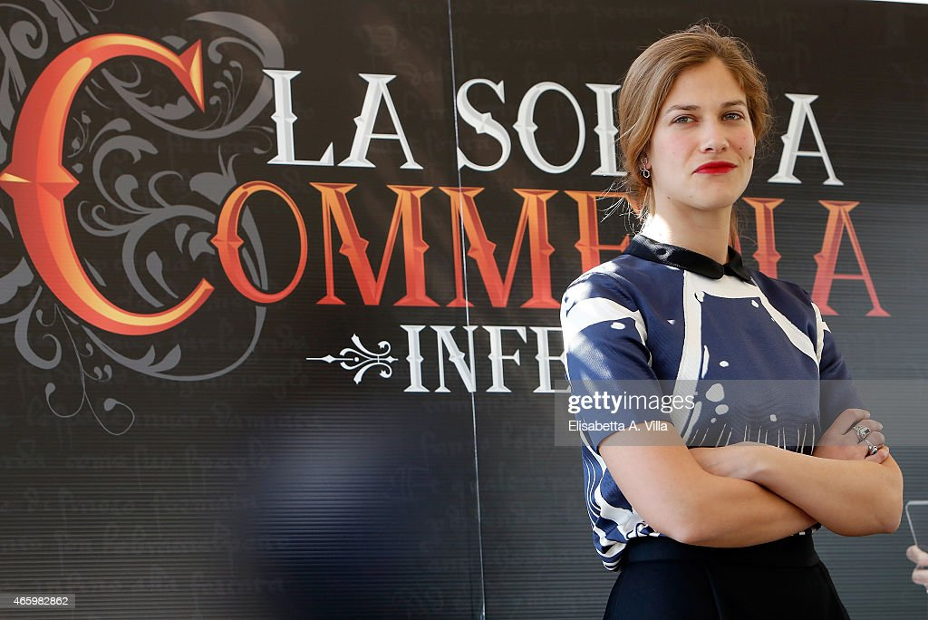Actress Tea Falco attends 'La Solita Commedia: Inferno' photocall at Hotel Bernini Bristol on March 12, 2015 in Rome, Italy.