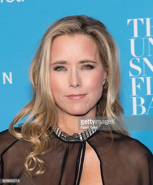 Actress Tea Leoni attends the 12th Annual UNICEF Snowflake Ball at Cipriani Wall Street on November 29 2016 in New York City