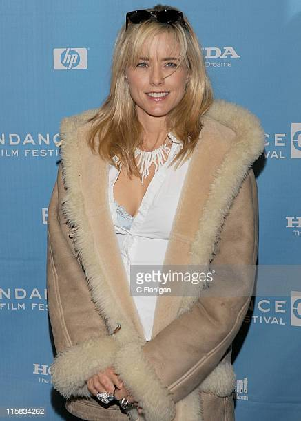 Actress Tea Leoni attends the 'Manure' premiere at the Eccles Theatre during the 2009 Sundance Film Festival on January 20 2009 in Park City Utah