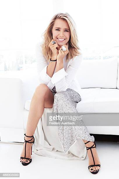 Actress Tea Leoni is photographed for Emmy Magazine on July 14 2015 in Los Angeles California COVER IMAGE ON DOMESTIC EMBARGO UNTIL DECEMBER 1 2015...