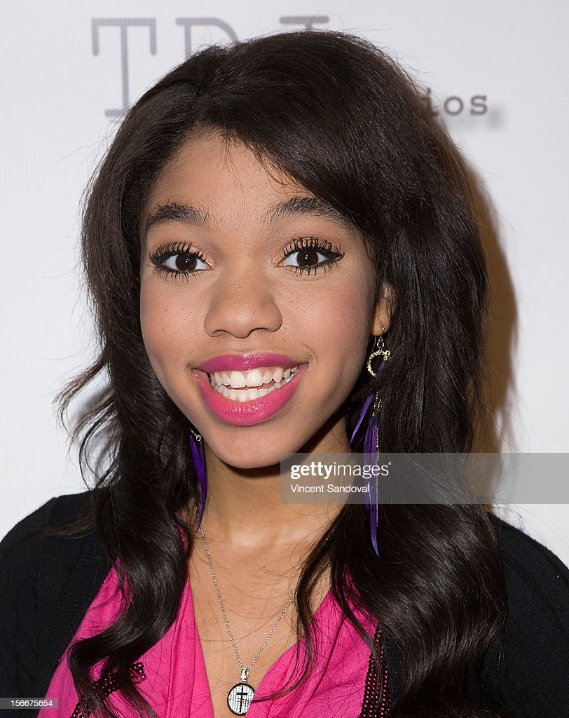 Actress Teala Dunn attends the 2nd Annual Dream Magazine Winter Wonderland Party on November 18, 2012 in Los Angeles, California.