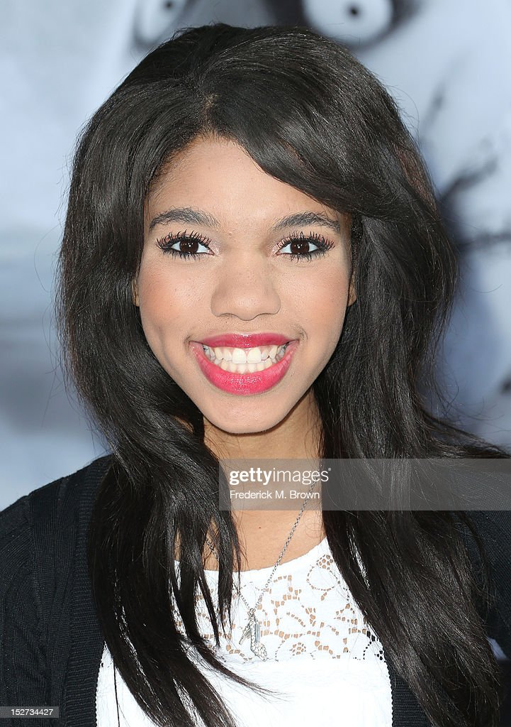 Actress Teala Dunn attends the Premiere Of Disney's 'Frankenweenie' at the El Capitan Theatre on September 24, 2012 in Hollywood, California.
