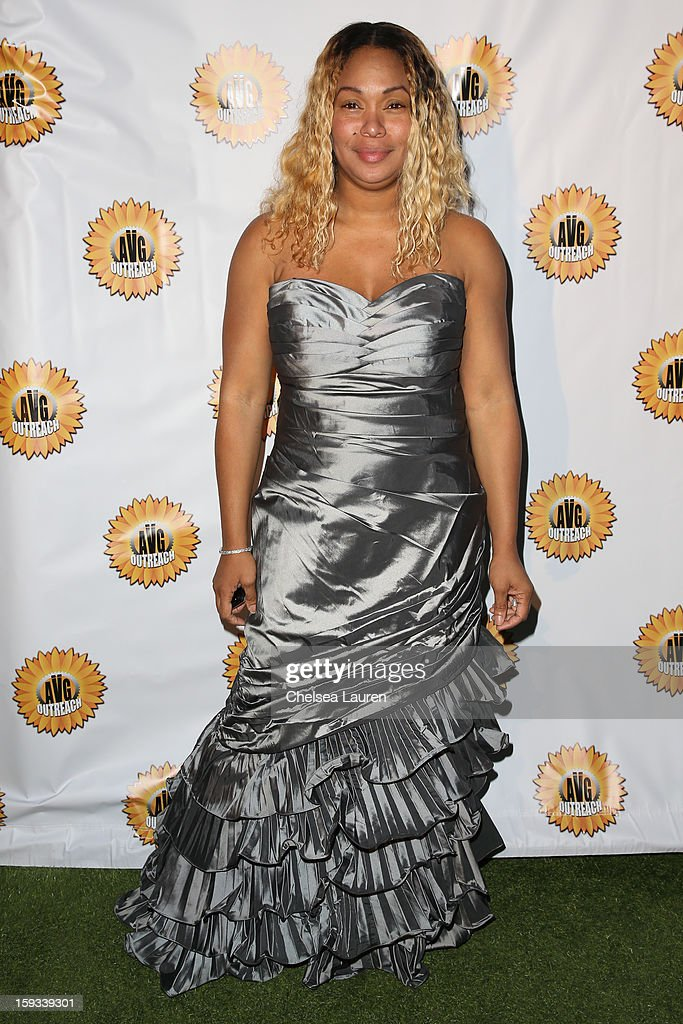 Actress Tee Ashira attends the AVG outreach event at the Viceroy Hotel on January 11, 2013 in Santa Monica, California.