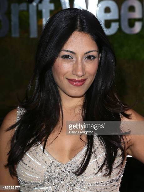 Actress Tehmina Sunny attends A Villainous Affair presented by Jaguar North America and BritWeek at the London West Hollywood on May 2 2014 in West...
