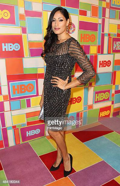 Actress Tehmina Sunny attends HBO's Official 2014 Emmy After Party at The Plaza at the Pacific Design Center on August 25 2014 in Los Angeles...