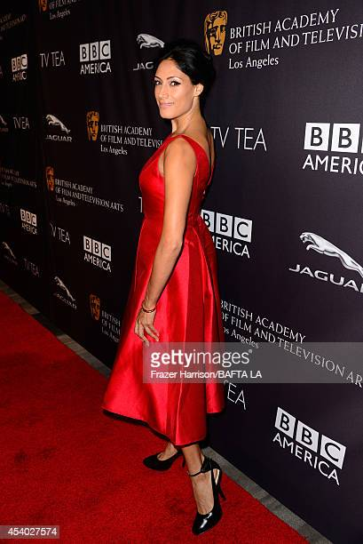 Actress Tehmina Sunny attends the 2014 BAFTA Los Angeles TV Tea presented by BBC America And Jaguar at SLS Hotel on August 23 2014 in Beverly Hills...
