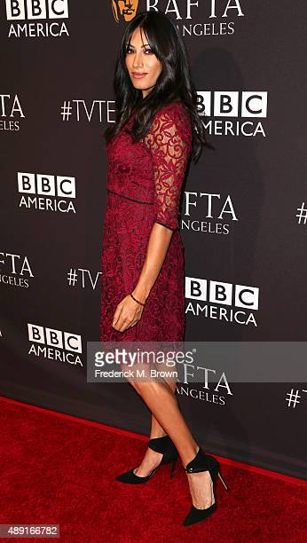 Actress Tehmina Sunny attends the 2015 BAFTA Los Angeles TV Tea at SLS Hotel on September 19 2015 in Beverly Hills California