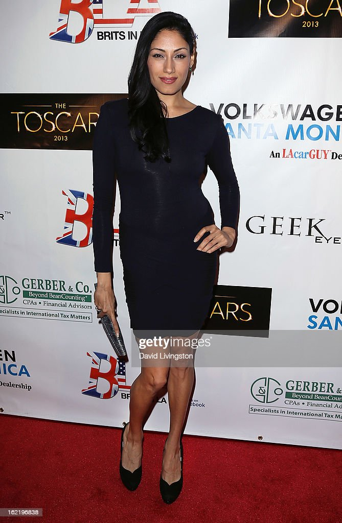 Actress Tehmina Sunny attends the 6th Annual Toscar Awards at the Egyptian Theatre on February 19, 2013 in Hollywood, California.