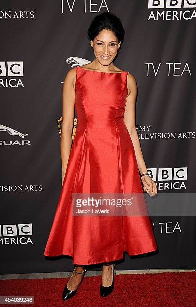 Actress Tehmina Sunny attends the BAFTA Los Angeles TV Tea Party at SLS Hotel on August 23 2014 in Beverly Hills California