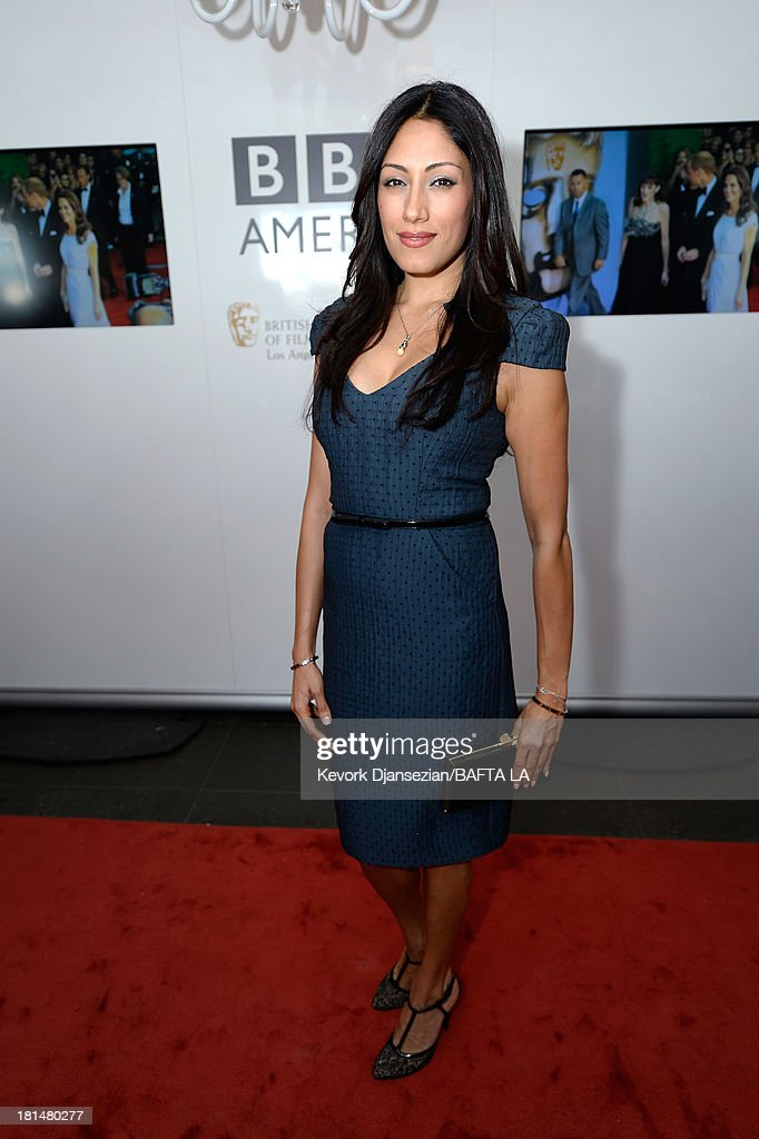 Actress Tehmina Sunny attends the BAFTA LA TV Tea 2013 presented by BBC America and Audi held at the SLS Hotel on September 21, 2013 in Beverly Hills, California.