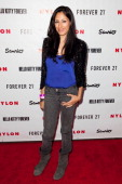 Actress Tehmina Sunny attends the Nylon Magazine Hello Kitty and Forever 21 Celebration of Nylon's October IT Issue at The London Hotel on October 15...