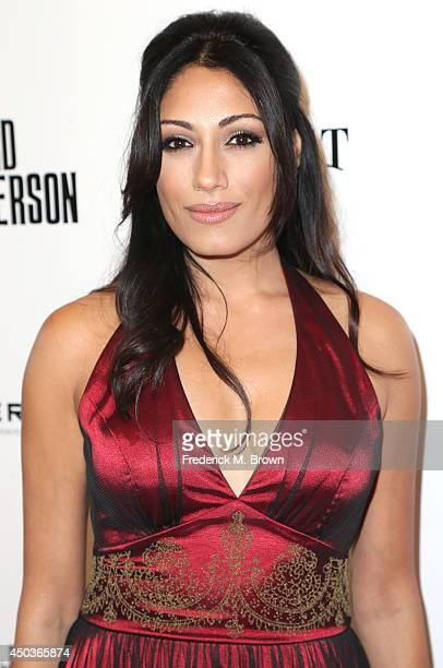 Actress Tehmina Sunny attends the premiere of Sony Picture Classics' 'Third Person' at the Linwood Dunn Theater Pickford Center for Motion Study on...