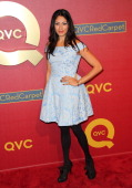 Actress Tehmina Sunny attends the QVC 5th Annual Red Carpet Style event at The Four Seasons Hotel on February 28 2014 in Beverly Hills California