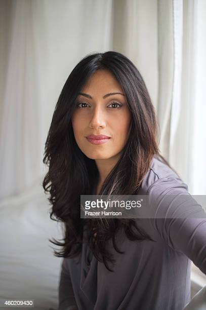 Actress Tehmina Sunny is photographed for Self Assignment on November 18 2014 in Los Angeles California