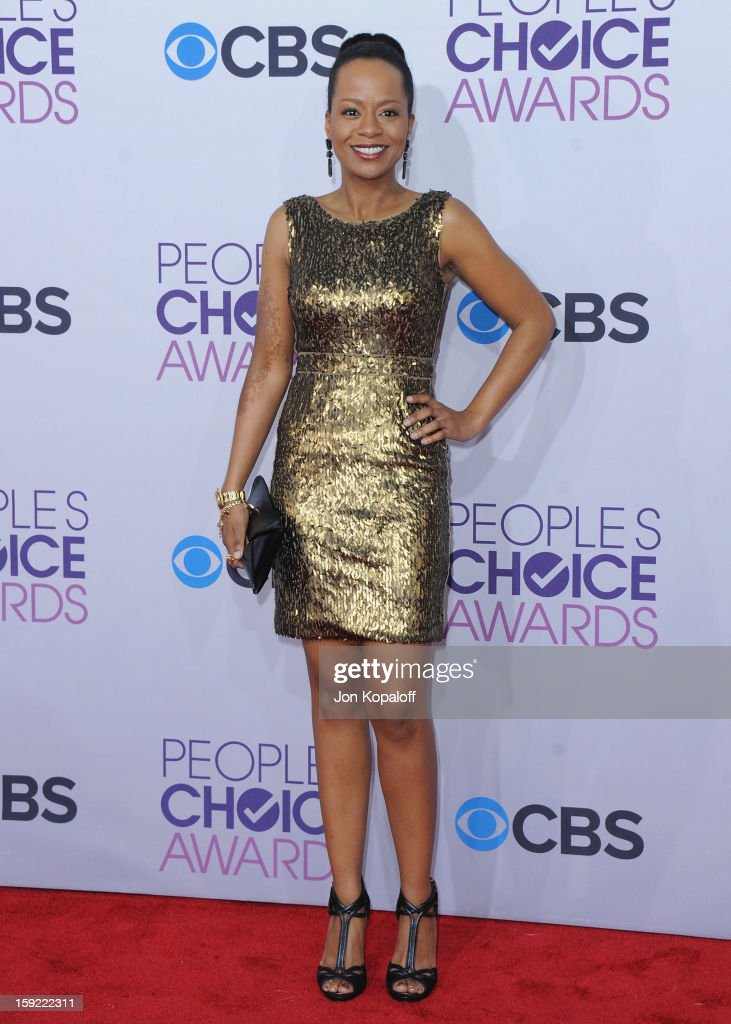Actress Tempestt Bledsoe arrives at the 2013 People's Choice Awards at Nokia Theatre L.A. Live on January 9, 2013 in Los Angeles, California.