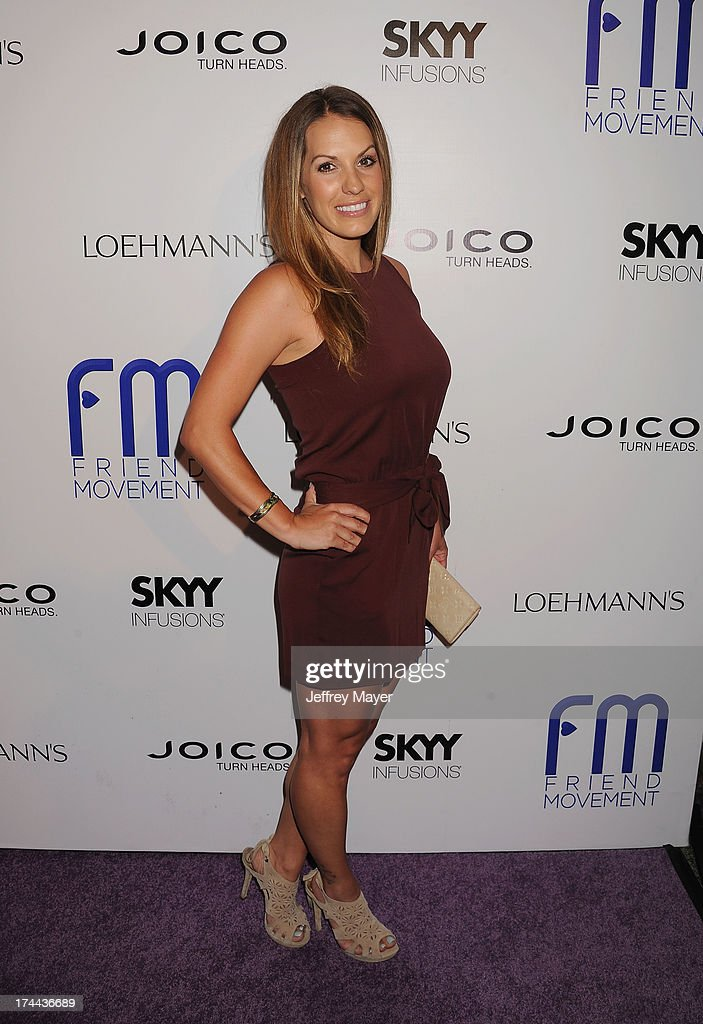 Actress Tenile Houston attends the Friend Movement Anti-Bullying Benefit Concert at the El Rey Theatre on July 1, 2013 in Los Angeles, California.