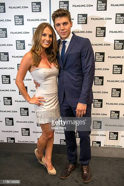 Actress Tenille Houston and Actor Nolan Gerard Funk attend 'The Canyon' screening at The Film Society of Lincoln Center Walter Reade Theatre on July...