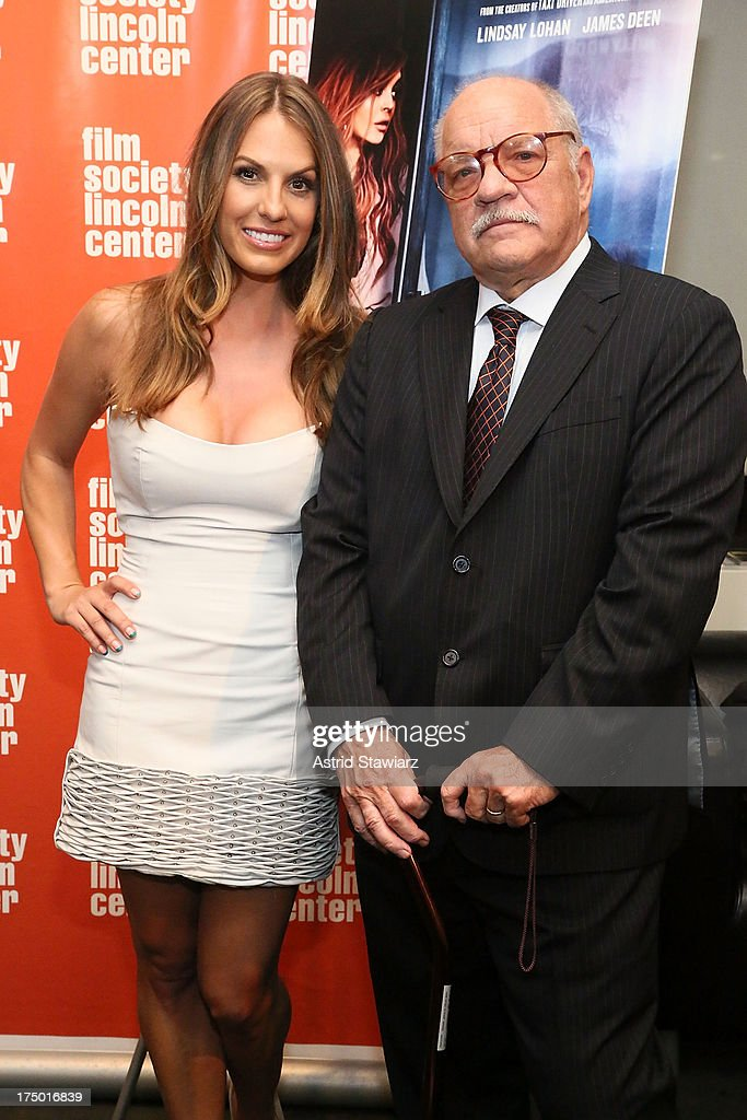 Actress Tenille Houston and director <a gi-track='captionPersonalityLinkClicked' href=/galleries/search?phrase=Paul+Schrader&family=editorial&specificpeople=984760 ng-click='$event.stopPropagation()'>Paul Schrader</a> attend a screening of 'The Canyon' presented by Film Society of Lincoln Center at The Film Society of Lincoln Center, Walter Reade Theatre on July 29, 2013 in New York City.