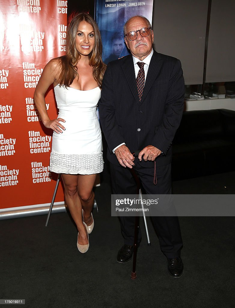 Actress Tenille Houston and director <a gi-track='captionPersonalityLinkClicked' href=/galleries/search?phrase=Paul+Schrader&family=editorial&specificpeople=984760 ng-click='$event.stopPropagation()'>Paul Schrader</a> attend the 'The Canyon' premiere at The Film Society of Lincoln Center, Walter Reade Theatre on July 29, 2013 in New York City.