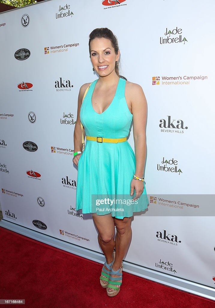 Actress Tenille Houston attends the 'Spring To Make A Difference' fundraiser event on April 21, 2013 in Beverly Hills, California.