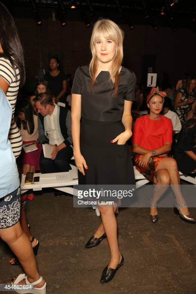 Actress Tennessee Thomas attends the HONOR fashion show at Art Beam on September 4 2014 in New York City