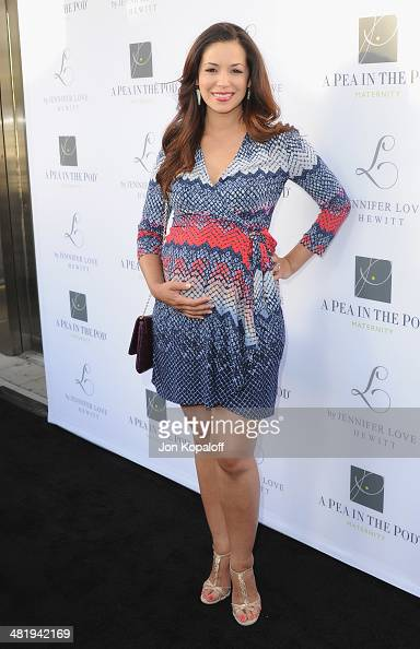 Actress Teresa Castillo arrives at A Pea In The Pod And Jennifer Love Hewitt Celebrate The Launch Of 'L By Jennifer Love Hewitt' at A Pea In The Pod...