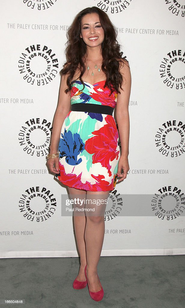 Actress Teresa Castillo arrives at The Paley Center For Media Presents 'General Hospital: Celebrating 50 Years And Looking Forward' at The Paley Center for Media on April 12, 2013 in Beverly Hills, California.