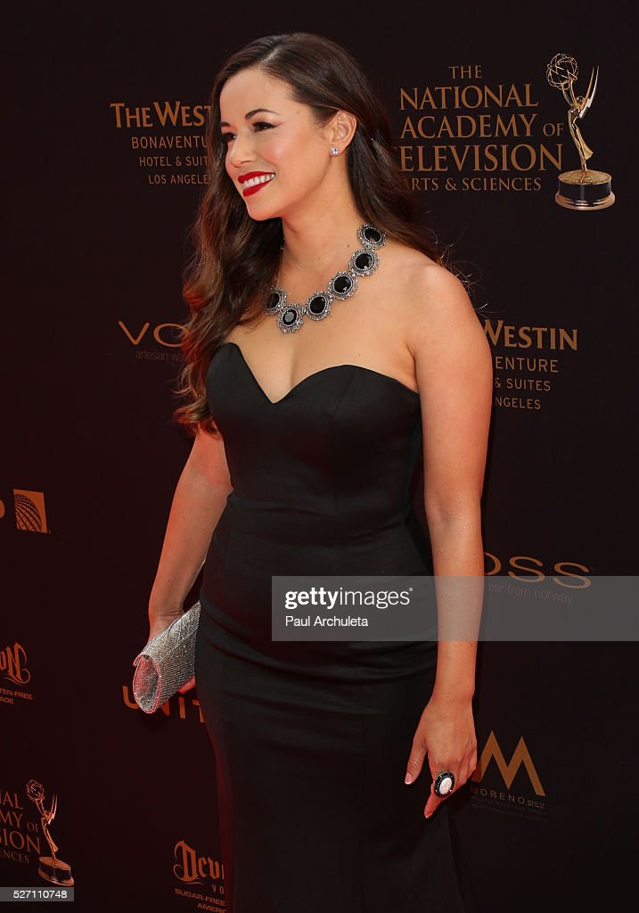 Actress Teresa Castillo attends the 2016 Daytime Emmy Awards at The Westin Bonaventure Hotel on May 1, 2016 in Los Angeles, California.