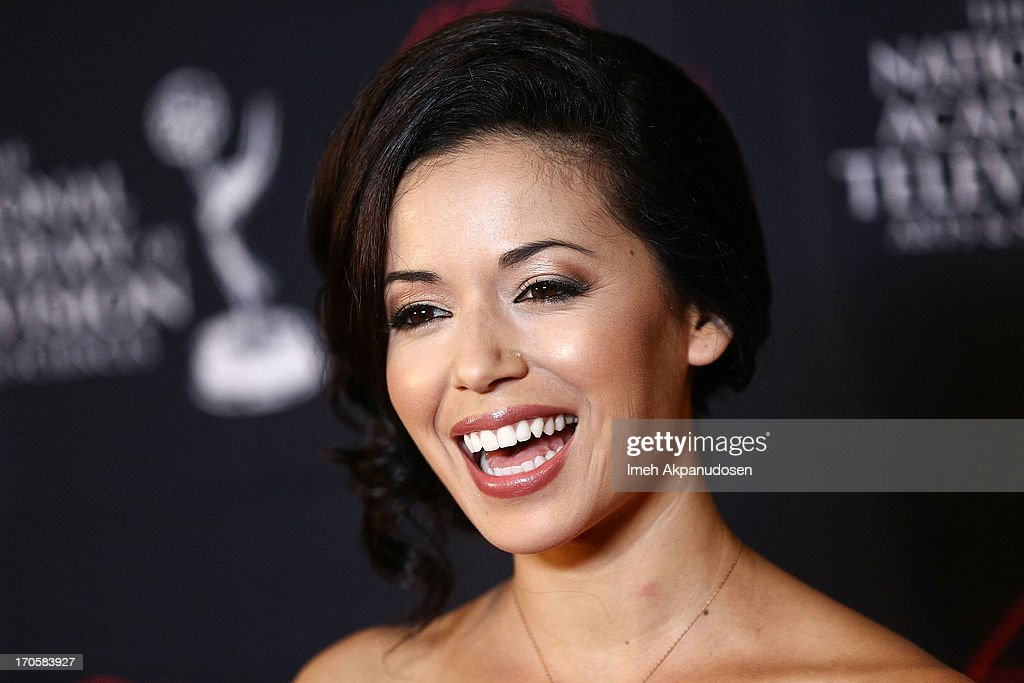 Actress Teresa Castillo attends The National Academy Of Television Arts & Sciences Presents The 40th Annual Daytime Entertainment Creative Arts Emmy Awards at Westin Bonaventure Hotel on June 14, 2013 in Los Angeles, California.