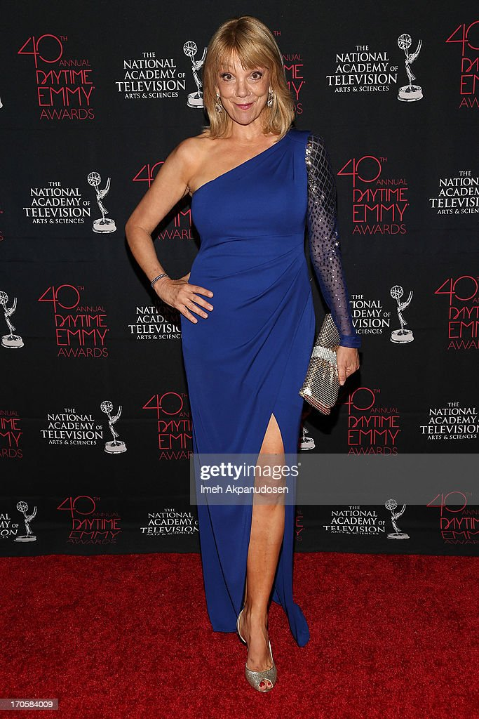 Actress Teresa Ganzel attends The National Academy Of Television Arts & Sciences Presents The 40th Annual Daytime Entertainment Creative Arts Emmy Awards at Westin Bonaventure Hotel on June 14, 2013 in Los Angeles, California.