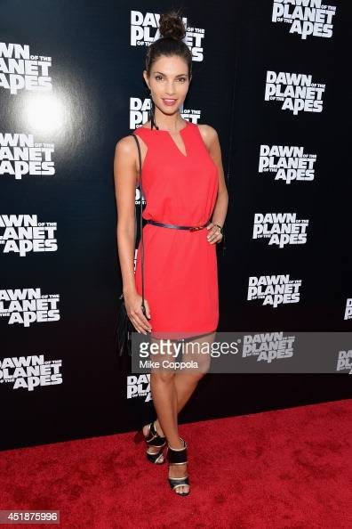 Actress Teresa Moore attends the 'Dawn Of The Planets Of The Apes' premiere at Williamsburg Cinemas on July 8 2014 in New York City